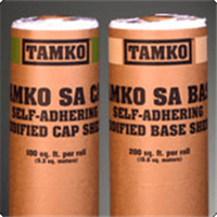 TAMKO SELF ADHERING CAP SHEETWHITE 1 SQ ROLL