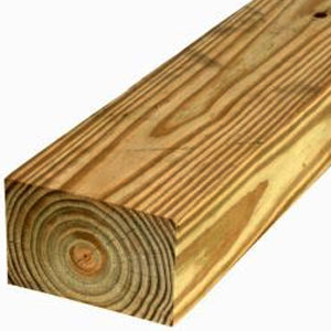 Treated Timbers Landscape Ties